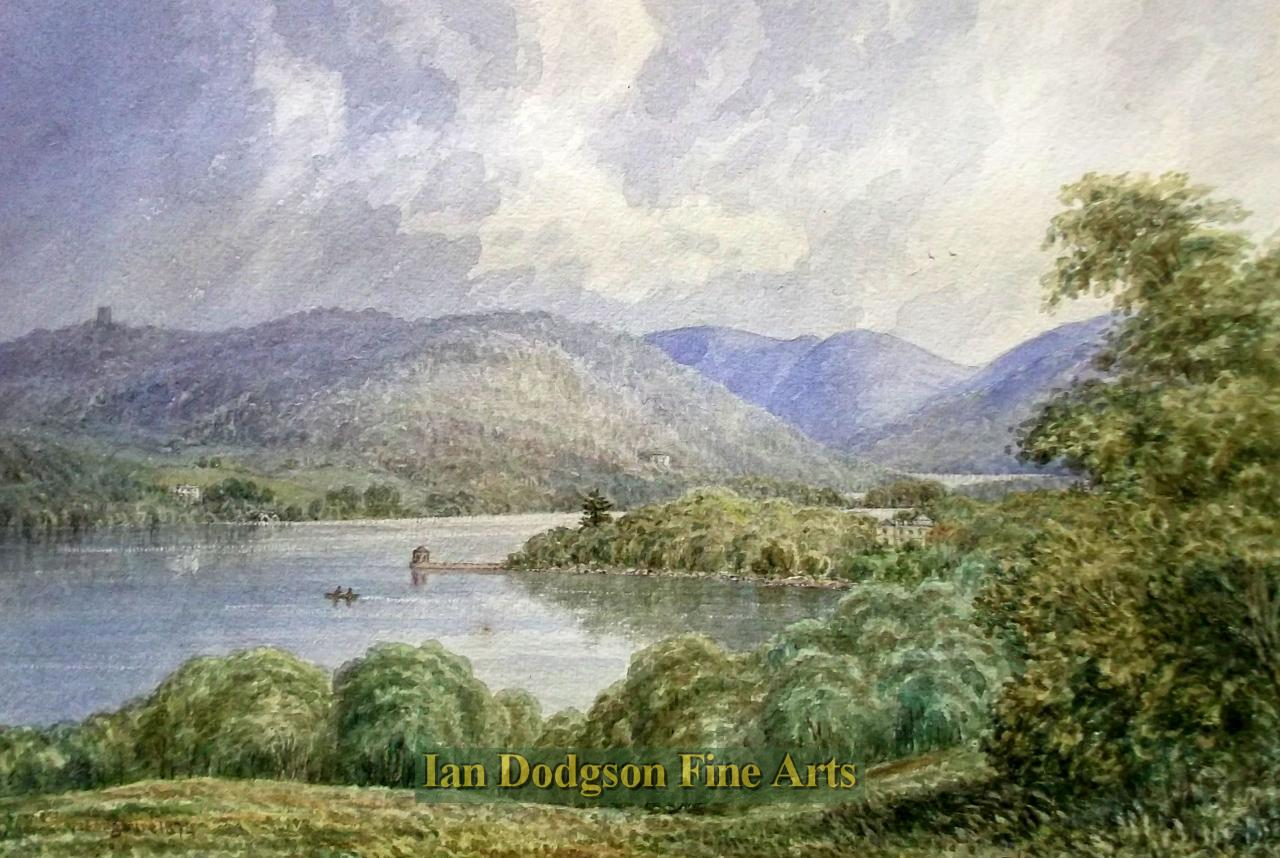 Windermere from Storrs Hall by William Taylor Longmire