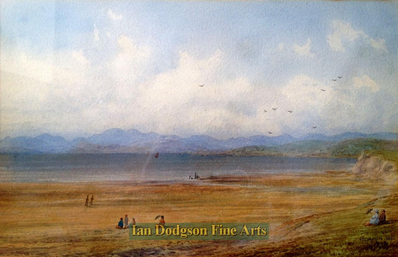 Across Morecambe Bay to the Lakes by William Taylor Longmire