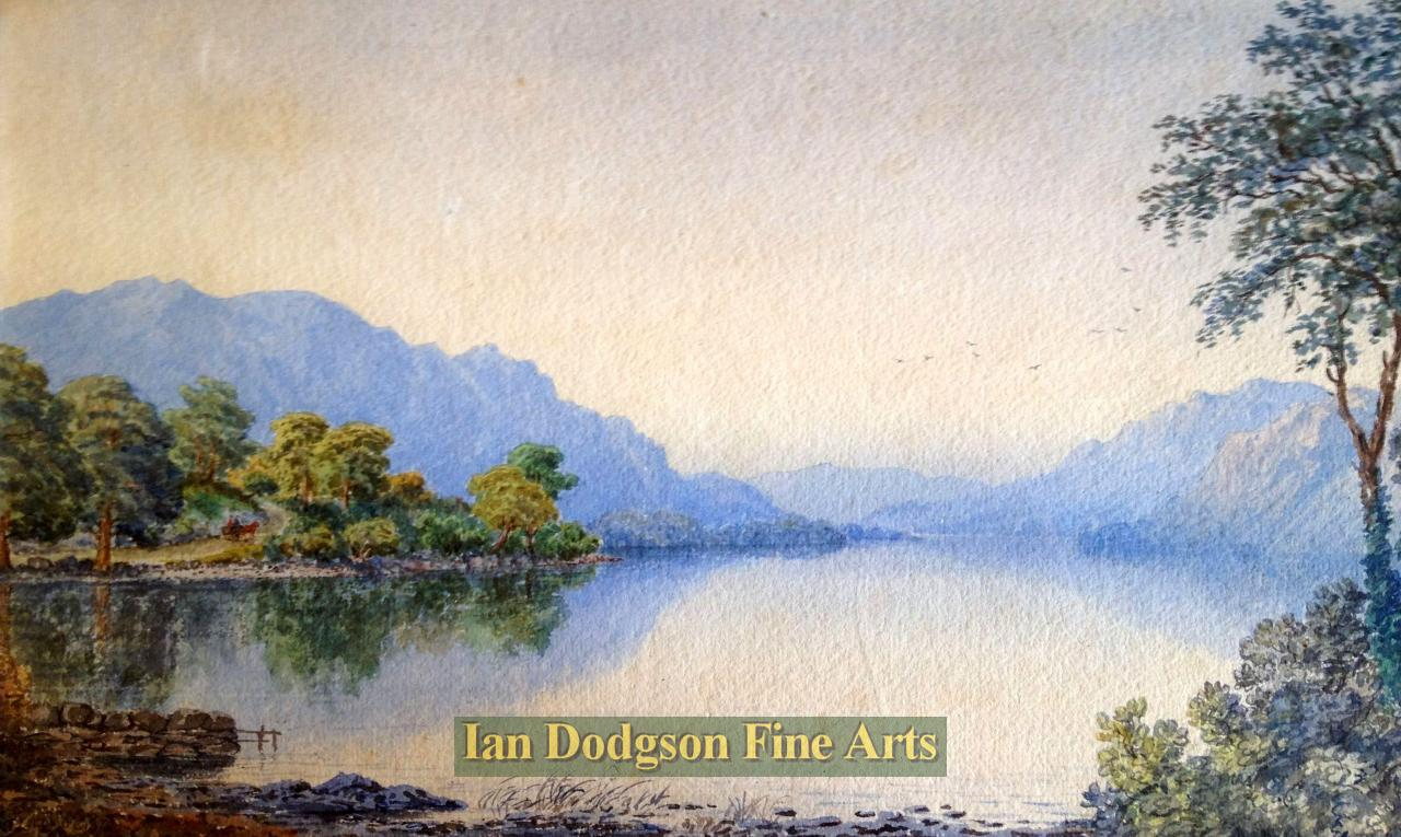 Crummock water by William Taylor Longmire
