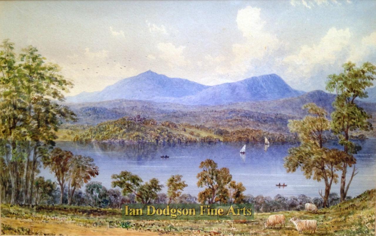 Coniston Water by William Taylor Longmire