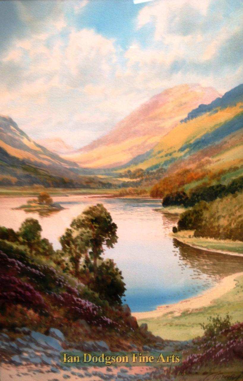 Grasmere from Loughrigg by George Trevor