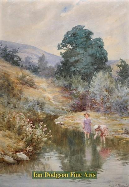Frederick J Knowles - Summers day, North Wales